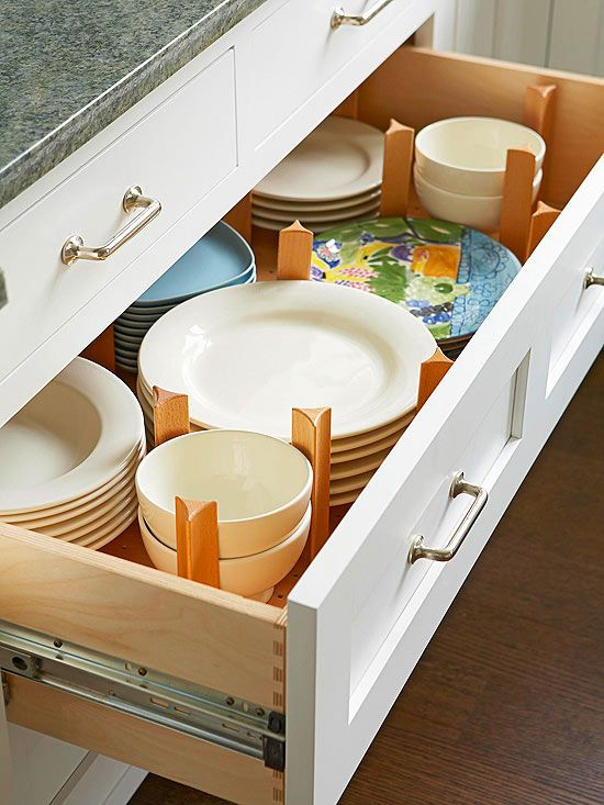 Ideas para ordenar platos vasos y tazas hogar ordenado - Ideas para ordenar ...