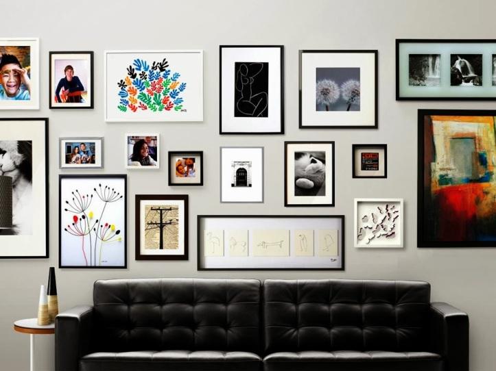 decoracao-com-quadros